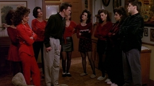 Watch Friends Season 3 Episode 11 The One Where Chandler Cant