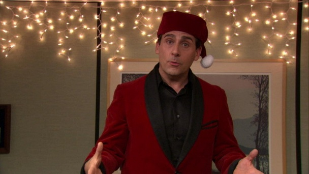 season 7 episode 11 classy christmas part 1 - The Office Classy Christmas